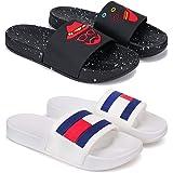 Earton Combo Pack of 2 Flip-Flops & Slippers for Men for Men