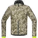 GORE BIKE WEAR Men's Cycling Storm Hoodie WINDSTOPPER Soft Shell Element Urban Print WS SO JWUELE Jacket (M, CAMO) by Gore Bike Wear