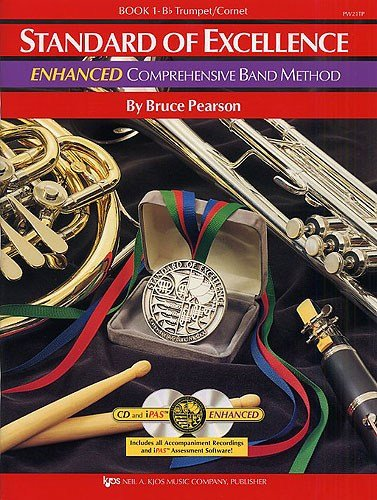 pearson-standard-of-excellence-book-1-bb-trumpet-cornet-enhanced-cd