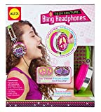 Alex Toys Girl\'s Tech Couture Bling Headphones (Pink/ Green)