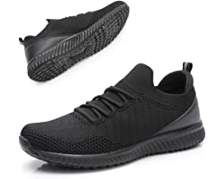 Slip On Womens Walking Shoes - Ladies Sock Trainers Gym Sneakers Mesh Breathable Lightweight Sports Shoes