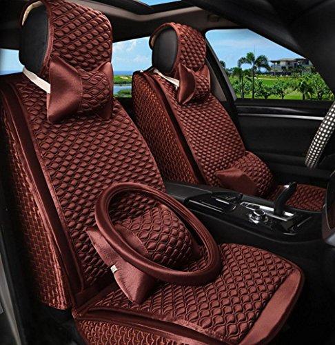 XH Sarkophag Umgeben Von Vier Jahreszeiten Universal Auto Sitz Kissenbezug , Brown,brown