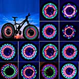Bicycle Wheels Lights Rottay Waterproof Bike Rim Lights/ Spoke Lights With 32-LED