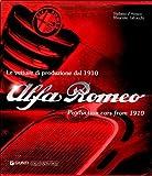 Alfa Romeo Production Cars from 1910