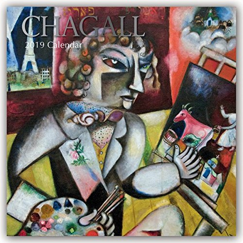 Chagall Kalender 2019 - 16-Monatskalender: Original The Gifted Stationery Co. Ltd [Mehrsprachig] [Kalender] (Wall-Kalender)