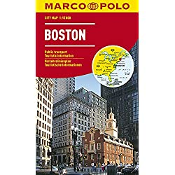 MARCO POLO Cityplan Boston 1:15 000 (MARCO POLO Citypläne)