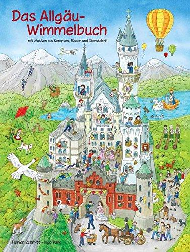 Preisvergleich Produktbild Das Allgäu-Wimmelbuch