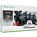 Microsoft Xbox One S 1TB Console | Gears of War 5-bundel (1TB)