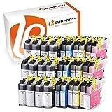 Bubprint 30 Druckerpatronen kompatibel für Brother LC-123 LC123 für DCP-J132W MFC-J4510DW MFC-J470DW MFC-J6520DW MFC-J6720DW MFC-J6920DW MFC-J870DW