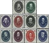 Prophila Collection DDR 261-270 (kompl.Ausg.) 1950 250 Jahre Dt.Akademie der Wissensch (Briefmarken für Sammler)