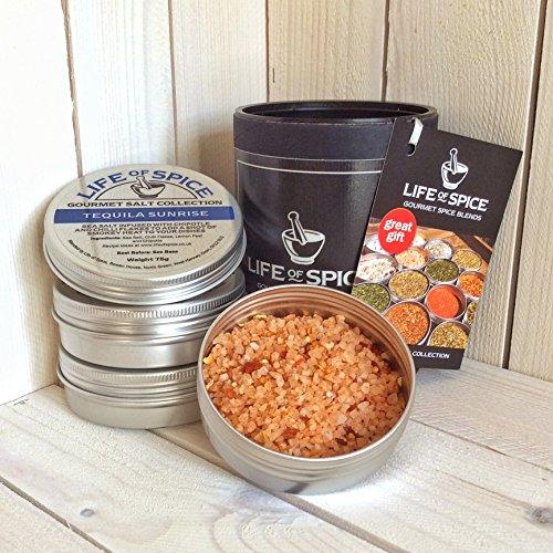 Life of Spice Mexican Collection - Confezione Regalo di 3 Sali, Rub e Miscele di Erbe Life of Spice (75 g/30 g/20 g)