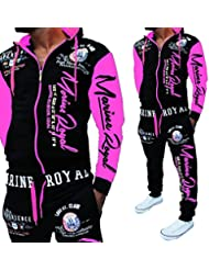 "'Chándal para Marino Arms "", negro-pink, XXXXL (fällt aus wie 3XL)"