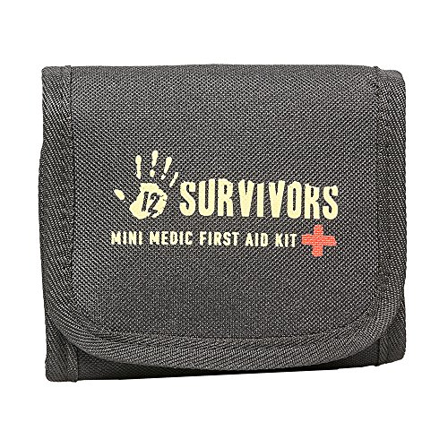 12 Survivors Mini Medic 60 Pc First Aid Kit - Medic First Aid