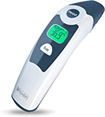 Medical Forehead and Ear Thermometer - the Authentic FDA Approved Professional Thermometer iProven DMT-116A - Unmatched Performance with Revolutionized Technology