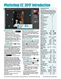 Adobe Photoshop CC 2017 Introduction Quick Reference Guide (4-page Cheat Sheet of Instructions, Tips & Shortcuts - Laminated Card)