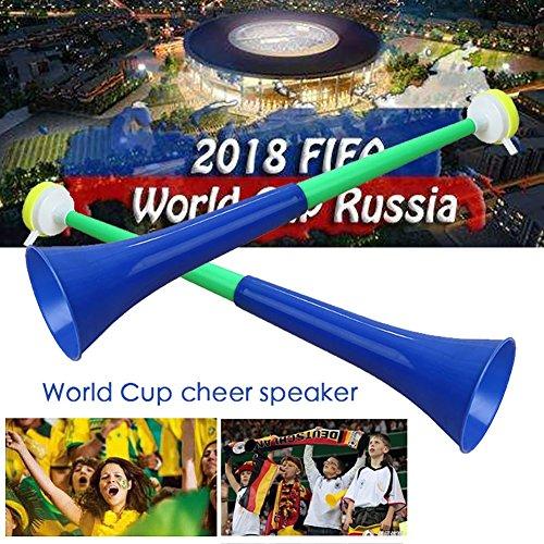 Moresave Fußball Fans Trompete 2018 WM Lautsprecher Spiel Party Konzert Horn Zufällige Farbe -1PC