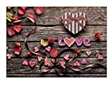 Trada Retro Blumen, 5D Stickerei Gemälde Strass eingefügt DIY Diamant Malerei Kreuzstich Für Stickerei Malerei Deko mit Kleben Diamant Bilder Full Bilder Set Kreuzstich Wanddekoration (I)