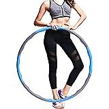 Xing Dong Sports Hula Hoop, Gewogen Fitness Oefening Hula Hoop, Geweldig voor Oefening, Dans Oefening Training Gymnastiek Wor