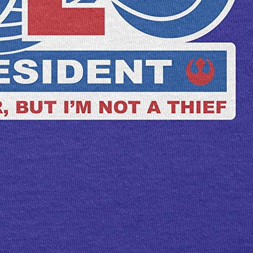 TEXLAB - Solo for President - Herren T-Shirt Marine