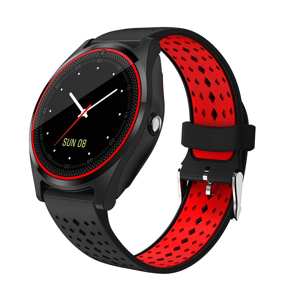 Hanbaili Smartwatch Reloj Inteligente con Ranura de Tarjeta SIM/TF y Cámara, Fitness Tracker, Análisis de Sueño… 1