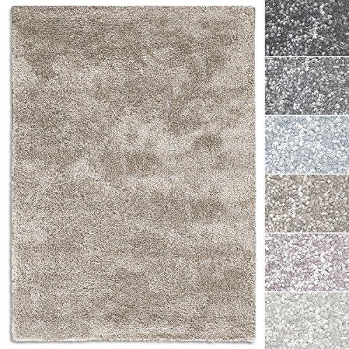 casa pura Teppich Sundae | viele Größen | pflegeleicht kuschlig weich | Flurteppich, Wohnzimmerteppich, Küchenteppich, Schlafzimmerteppich (Beige - 66x130 cm)
