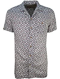 SoulStar - Chemise casual - Homme -  blanc - Large