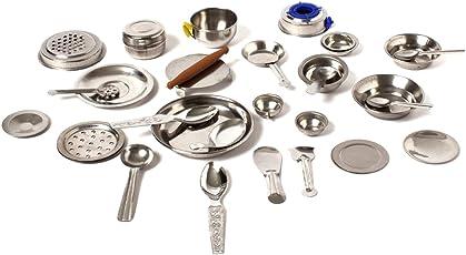 sunnytoyz Chotu 31 Pcs Stainless Steel Kitchen Playset