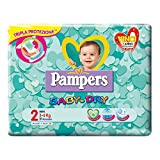 Pannolini Pampers Baby Dry misura 2 - 3-6 kg - 144 pezzi (6 pacchi da 24)