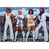 """ABBA Group Poster Approximate size 11.7"""" x 16.5""""- 297mm x 420mm"""