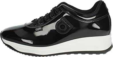 AGILE BY RUCOLINE 1315(A41) Sneakers Donna Nero 36