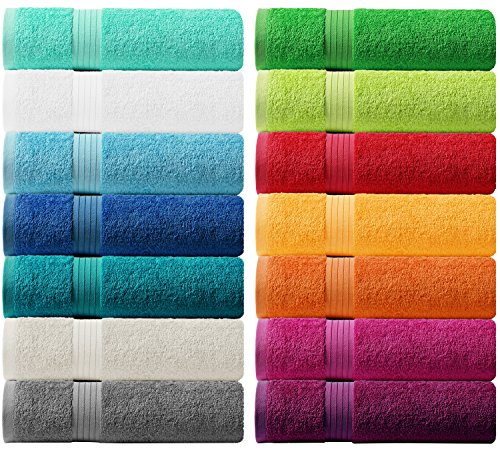 Lashuma Handtuch Set - Frotteeserie Linz - in 14 Farben und 6 Größen, Farbe: dunkel grau, 2er Set Seiftuch 30x30cm