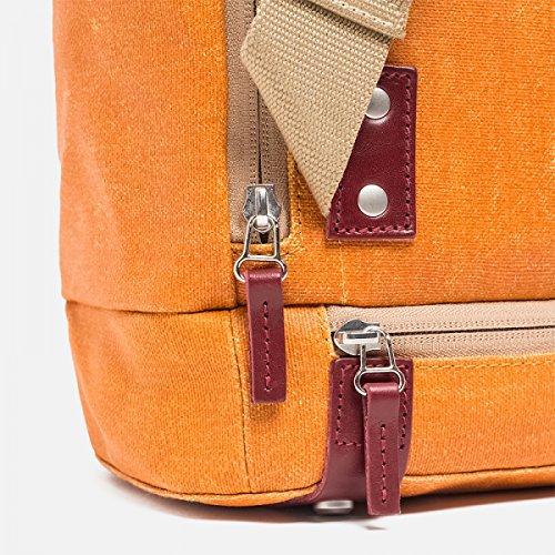 Brooks Pickwick Canvas Small Backpack 12L - Kleiner Rucksack goose beak/maroon