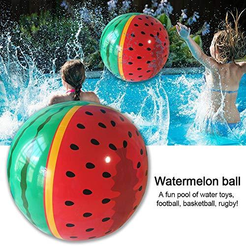 True-Ying Wassermelone Ball Pool Spielzeug für Unterwasserspiele Durable Ball für Pool Basketball Rugby für Wasser Parteien Vision, greifen,
