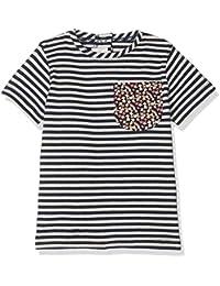 Mamas and Papas Pocket Detail Tee, T-Shirt Bébé Fille