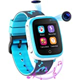Smartwatch per Bambini con 2 Fotocamere - SOS Two Way Call Lettore Musicale HD 7 Giochi Puzzle 1.54 Touchscreen Smart Watch p