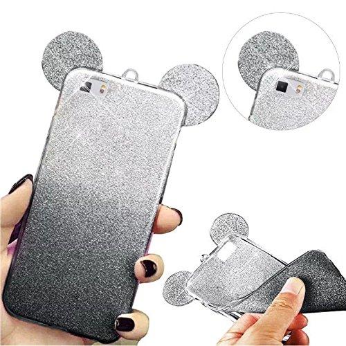 MOMDAD Cover per Huawei P8 LiteTPU Silicone Gel Custodia di Protezione