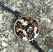 Orgone Orgonite bracelet, 24K Gold, Black Tourmaline, Shungite, handmade, unisex