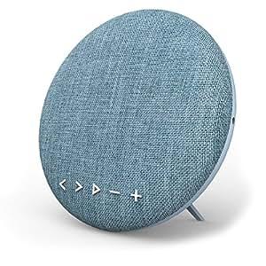 Bluetooth Lautsprecher, Wirezoll WS-4 16W Tragbar Bluetooth 4.1 Stereo Wireless Speaker mit Leinen Oberfläche und Bassverstärker mit HiFi-Klang, mit Mikrofon für iPhone, iPad, Samsung, Nexus, HTC und andere Android Geräte, TF Funktion Unterstützt, Blau