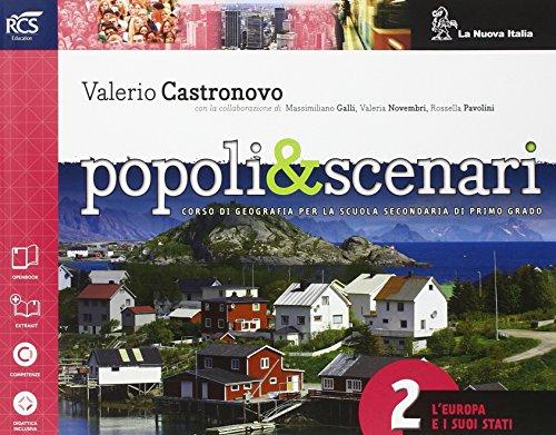 Popoli e scenari. Per la Scuola media. Con e-book. Con espansione online: 2