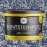Buntsteinputz blau/weiss 20kg