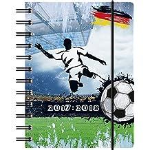Brunnen 1072915108 Schülerkalender Fußball (1 Tag in 1 Seite, August 2017 bis Juli 2018)