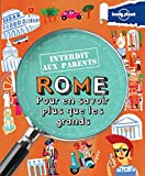 Rome Interdit aux parents - 3ed