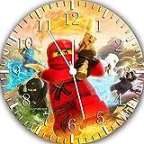 Lego Ninjago neu Ninja Wanduhr 25.40 cm schönes Geschenk und Wand, W119