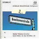 Beethoven, L. Van: Piano Works (Complete), Vol. 2 - Sonatas Nos. 1-3, 19, 20
