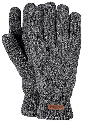 Barts - Haakon Glove, Guanti Uomo, colore grigio (grau), taglia L/XL (Taglia Produttore: L/XL)