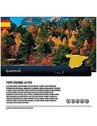 Garmin Uni Topo Spanien v6 Pro Topographische Vektorkarte, Mehrfarbig, One Size