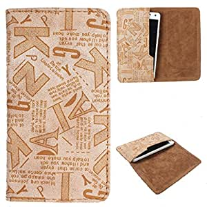 DooDa PU Leather Case Cover For Lava Iris 465
