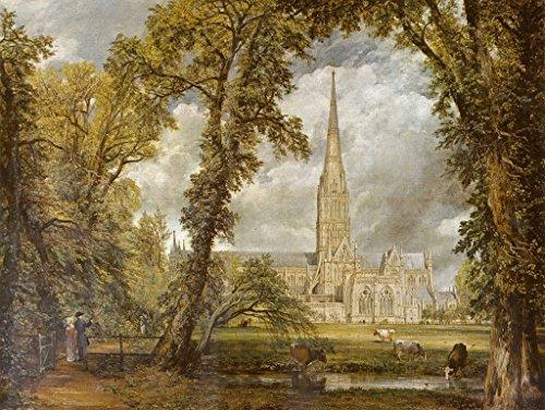 Lais Puzzle John Constable - La Catedral de Salisbury Vista Desde el jardín del Obispo 1000 Piezas