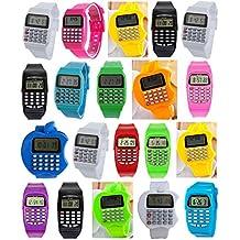 877d1f25b54a Pappi-Haunt Relojes de Pulsera Digitales LED Banda LED Fiesta de cumpleaños  Regalos de Regalo