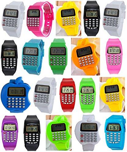 Pappi-Haunt Relojes de Pulsera Digitales LED Banda LED Fiesta de cumpleaños Regalos de Regalo Regalos de cumpleaños para niños Regalos Favoritos para niños Regalos para niñas Juego de 20 LED Bandas